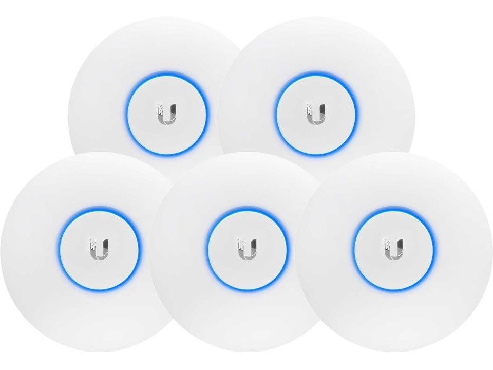 Ubiquiti UAP-AC-LITE Dual Radio Access Point 5-pak