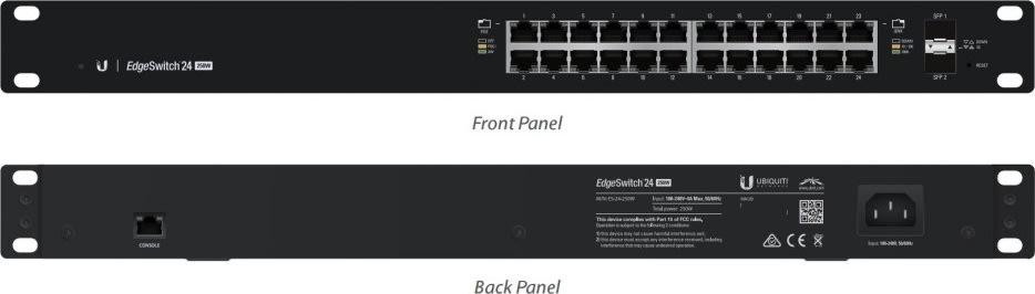 Ubiquiti ES-24-250W EdgeSwitch, 24-Ports