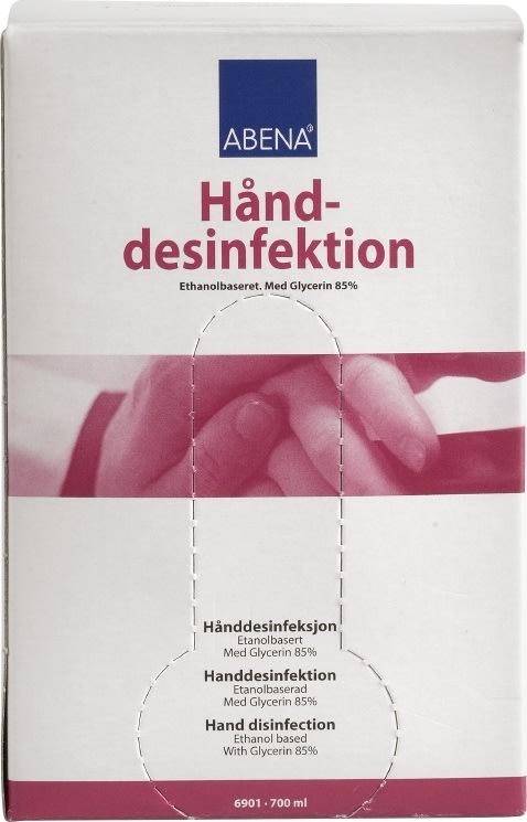 Abena hånddesinfektion 70%, 700ml