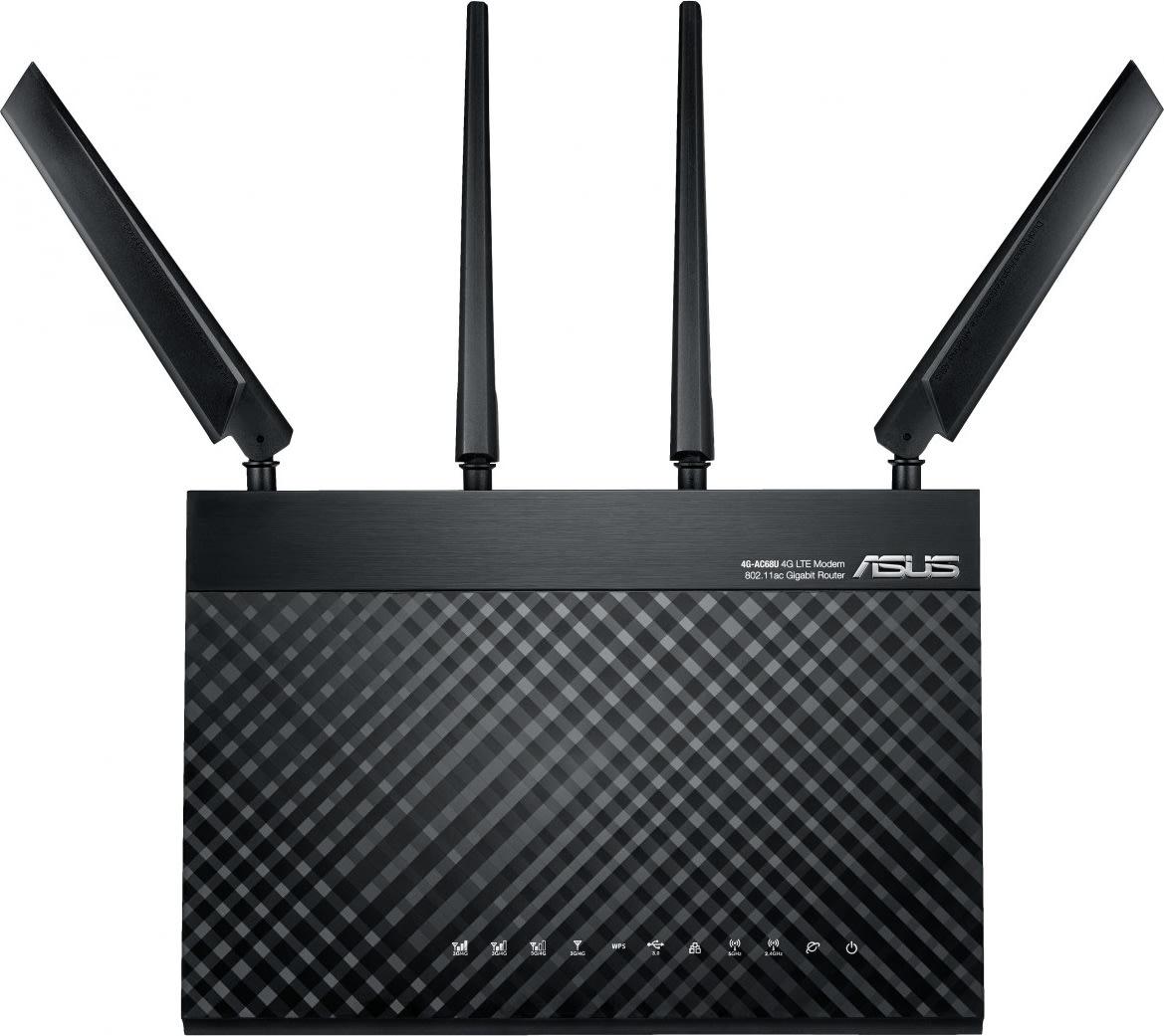 ASUS 4G-AC68U AC1900 Dual-Band LTE Wi-Fi Modem Rou