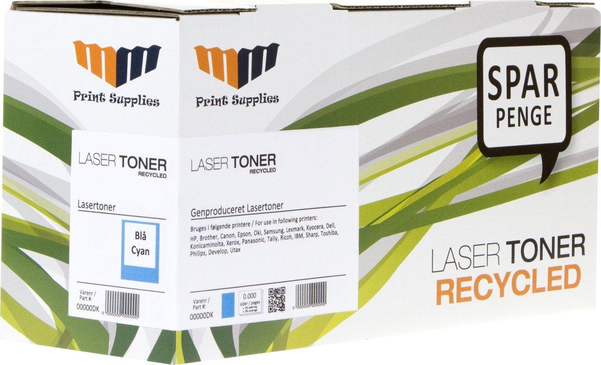 MM 307A/CE741A kompatibel HP lasertoner, blå