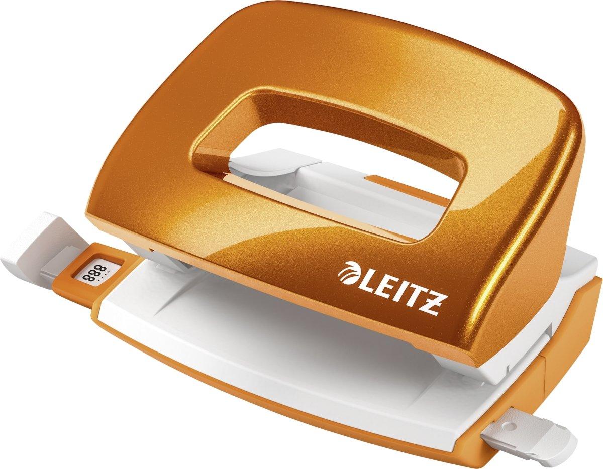 Leitz WOW Mini hulapparat, orange metallic