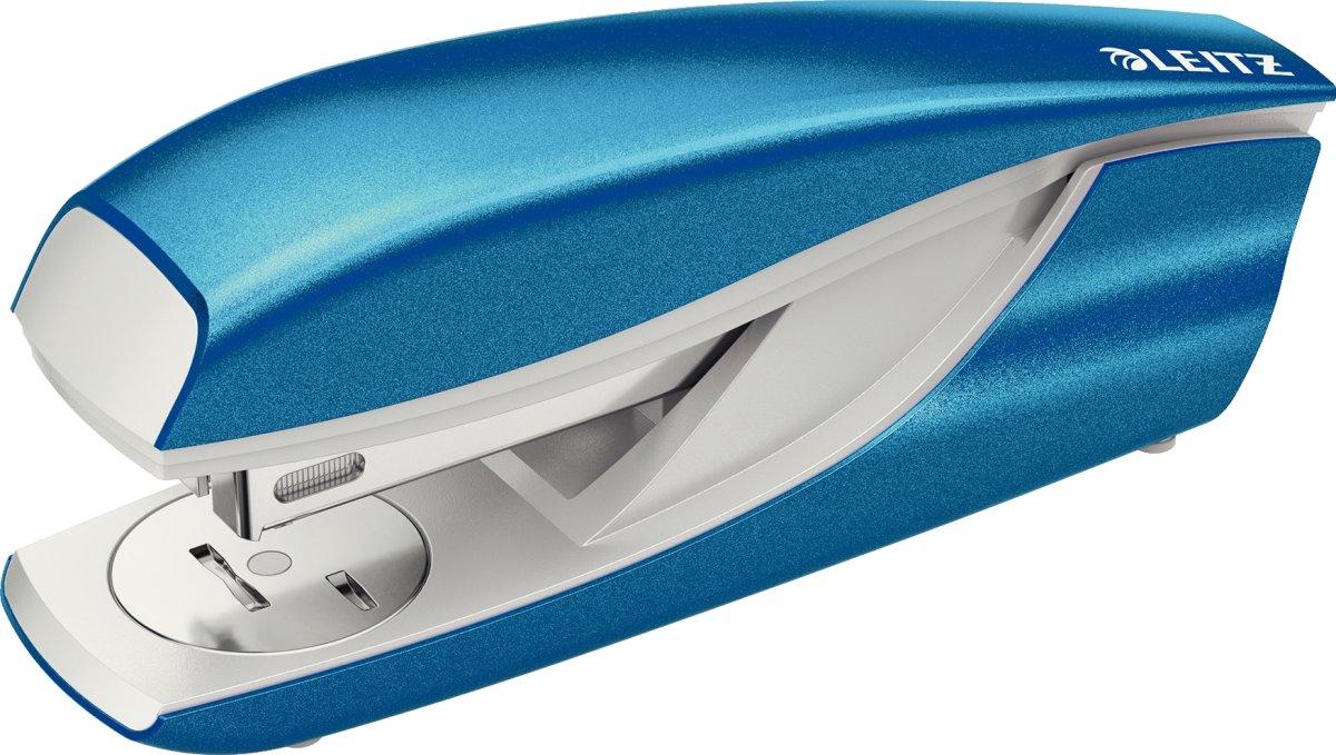 Leitz WOW 5502 hæftemaskine, blå metallic