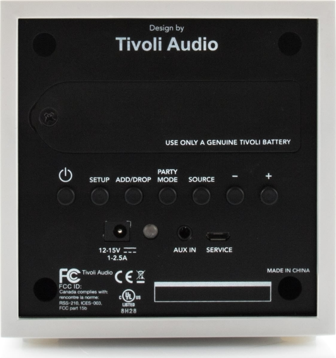 Tivoli Audio CUBE transportabel højttaler, valnød