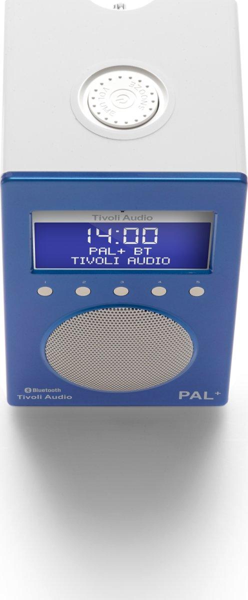 Tivoli Audio Pal+ DAB+/FM/BT radio, glossy blue