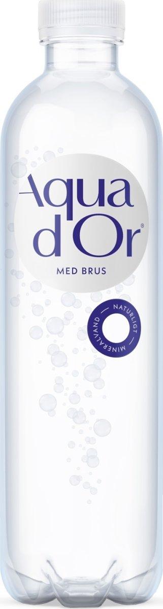 Aqua d'or kildevand m. blid brus 0,5l, inkl. pant