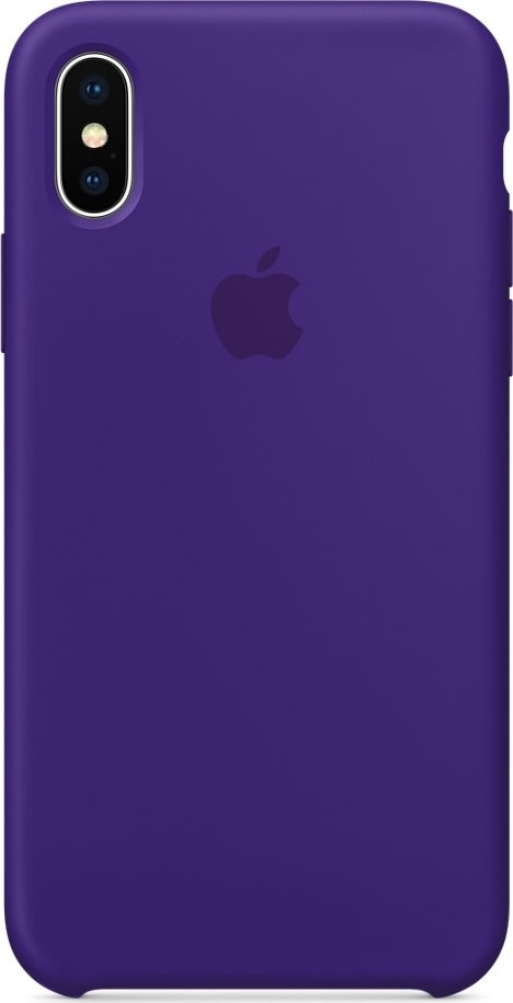 Apple iPhone X silikone cover, Ultra Violet