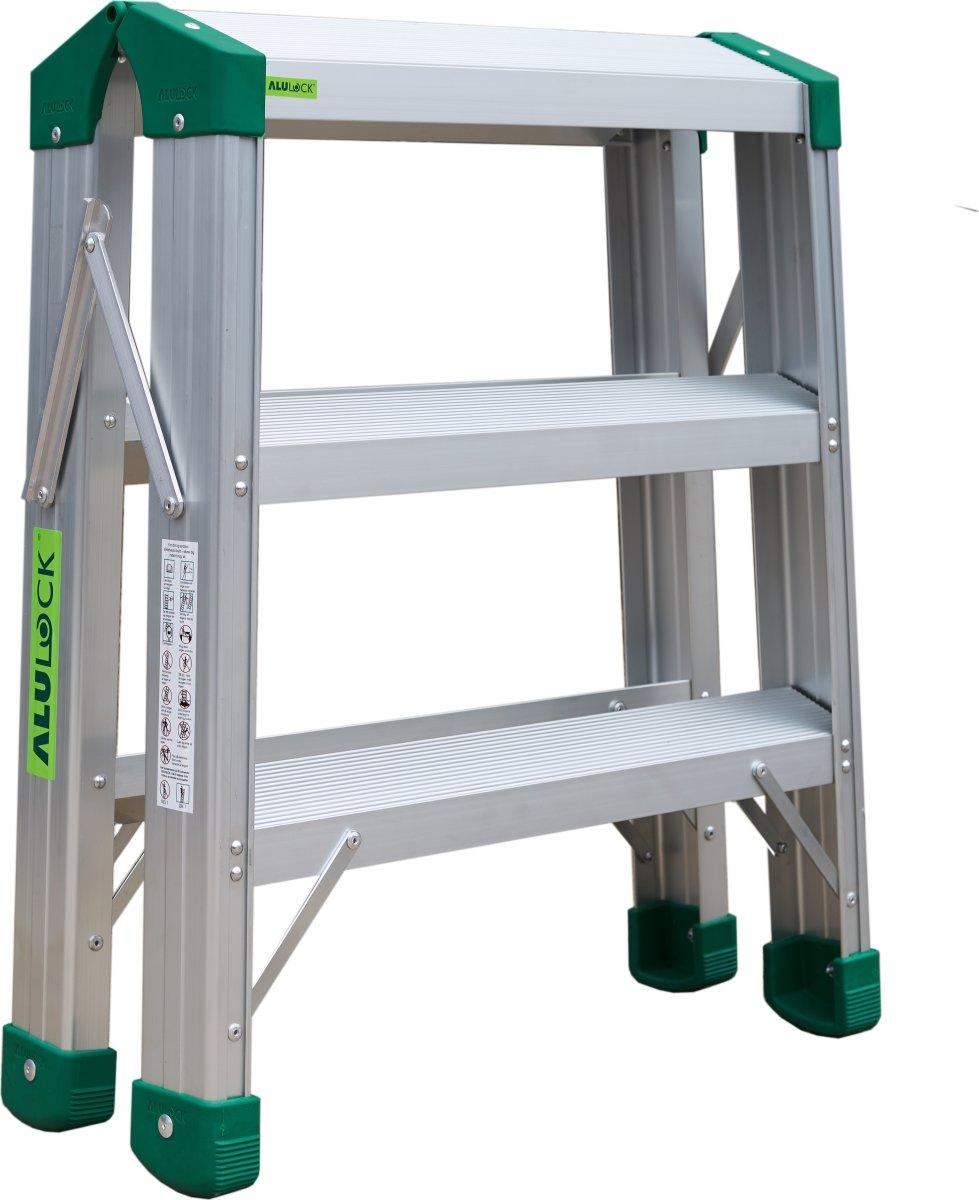 Arbejdsplatform Alu, 60x24 cm - Højde 0,75 m