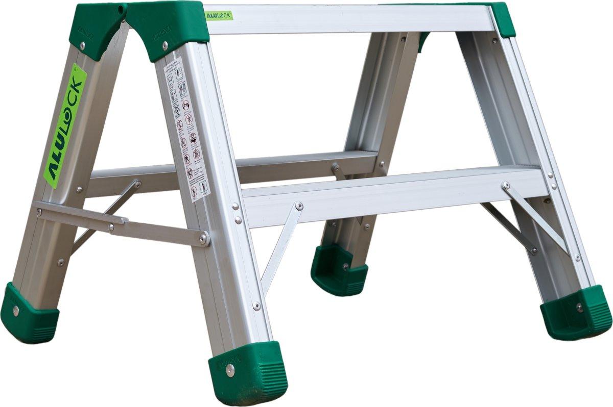 Arbejdsplatform Alu, 60x24 cm - Højde 0,5 m