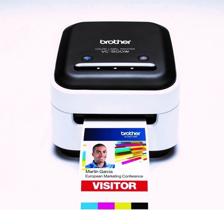 Brother VC-500W farvelabelprinter