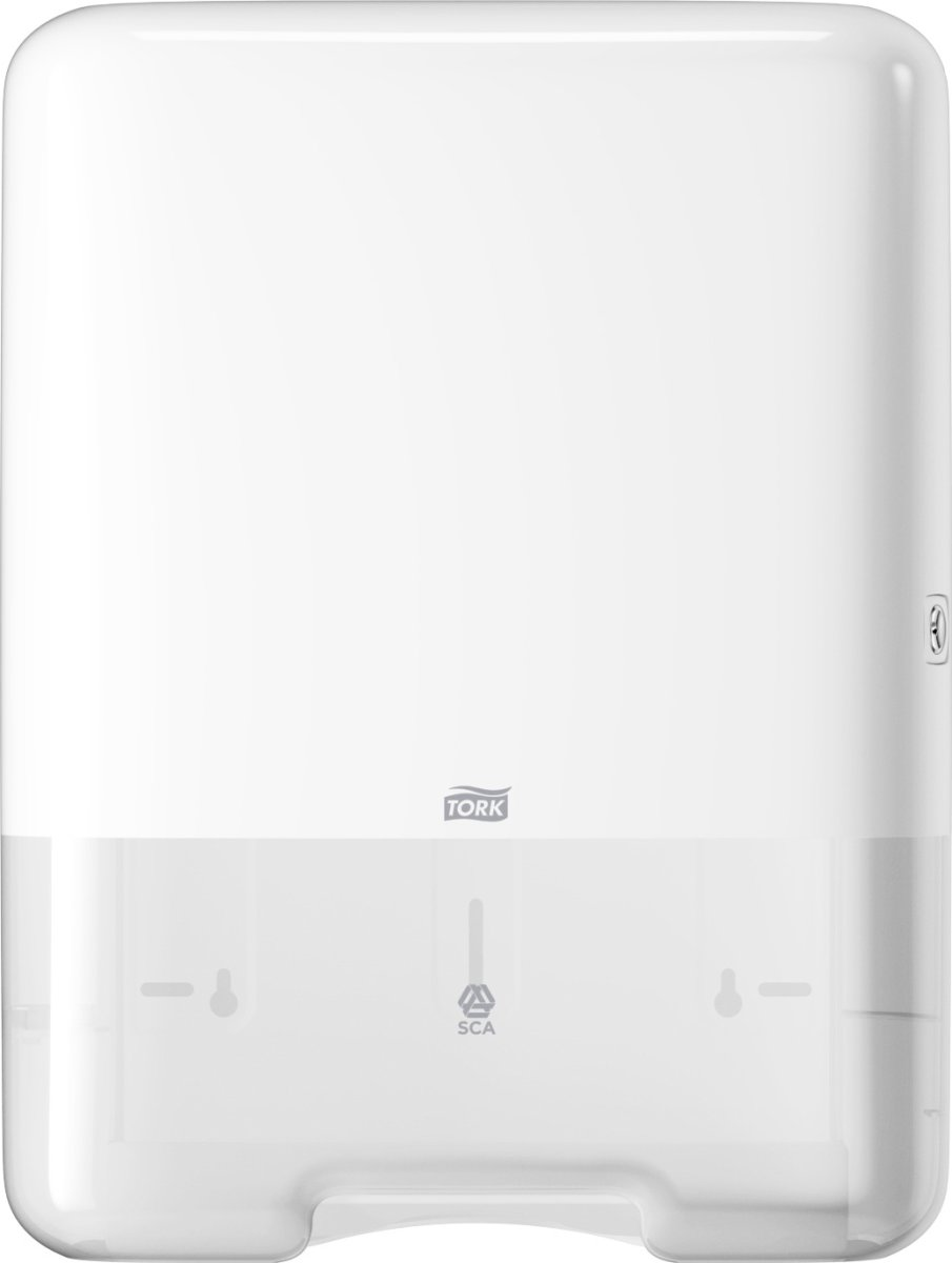 Tork H3 Dispenser Håndklædeark, hvid
