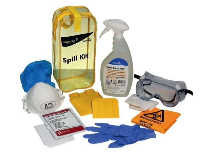 DI Oxivir Plus Spray Spill Kit, 1 stk.