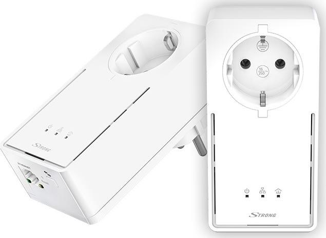STRONG Powerline adapter Kit 1200 EU kit - 2 stks