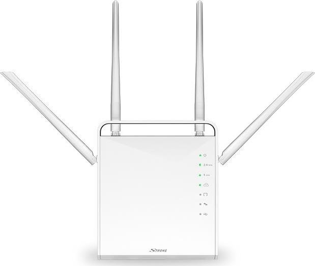 STRONG Dual Band Gigabit Router 1200 Mbit/s