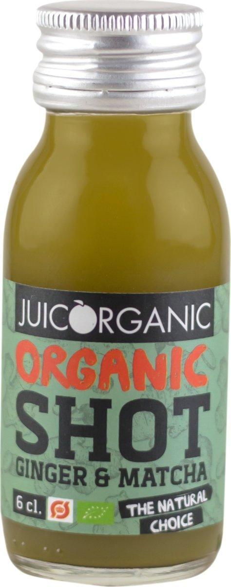 JuiceOrganic Ginger & Matcha shot, 6 cl.