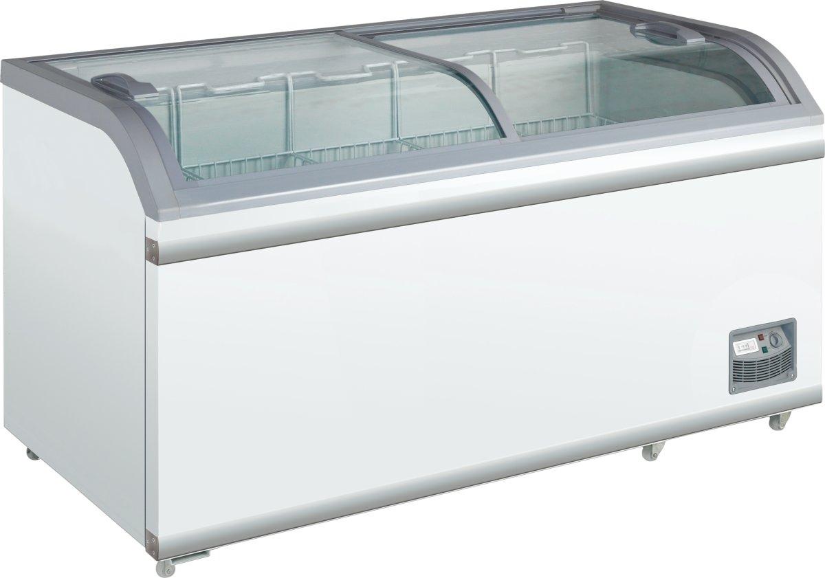 Scandomestic XS 601 displayfryser, 500 liter