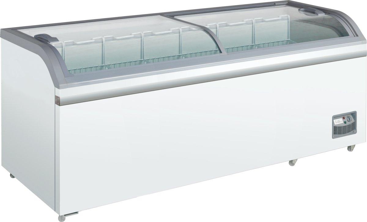Scandomestic XS 801 displayfryser, 700 liter
