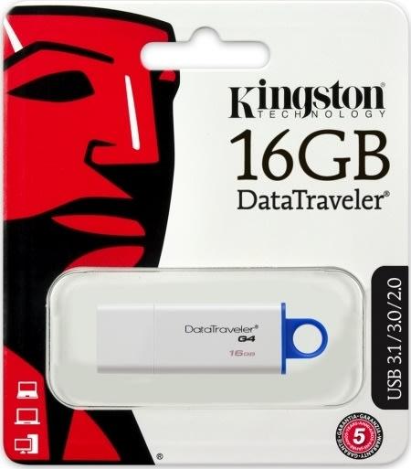 Kingston DataTraveler Gen. 4 USB 3.0 - 16 GB