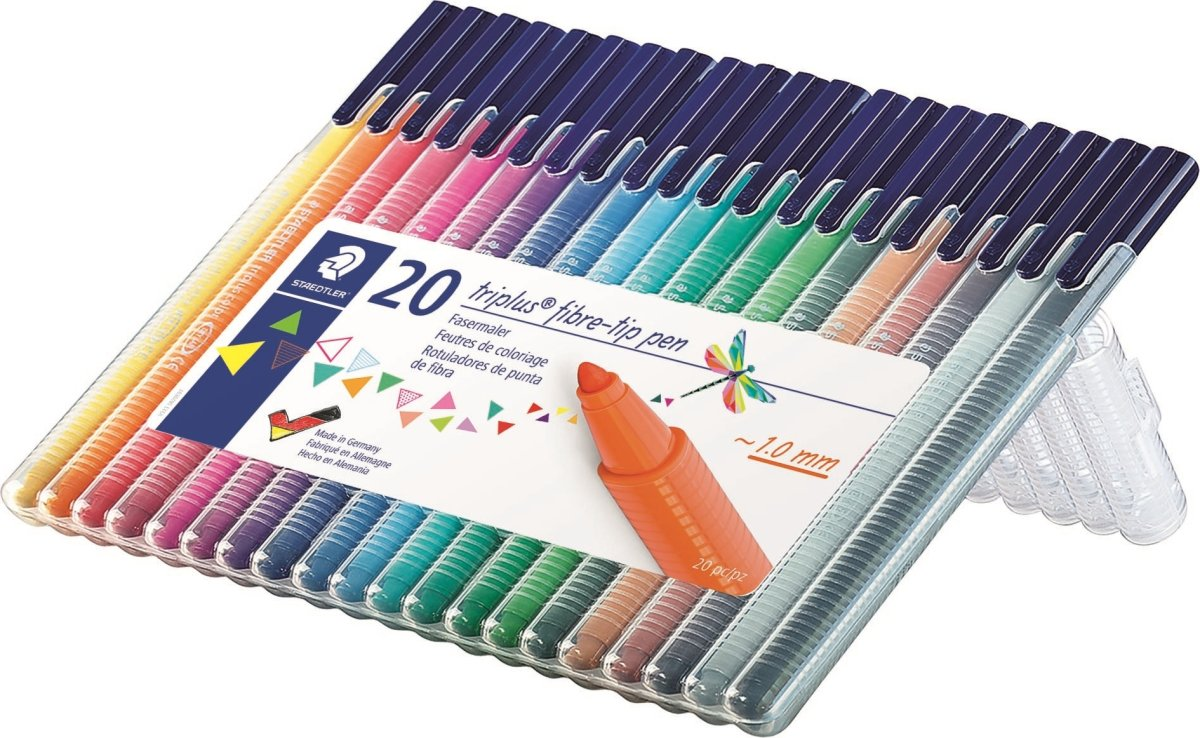 Staedtler Triplus Color tusser, 20 stk.