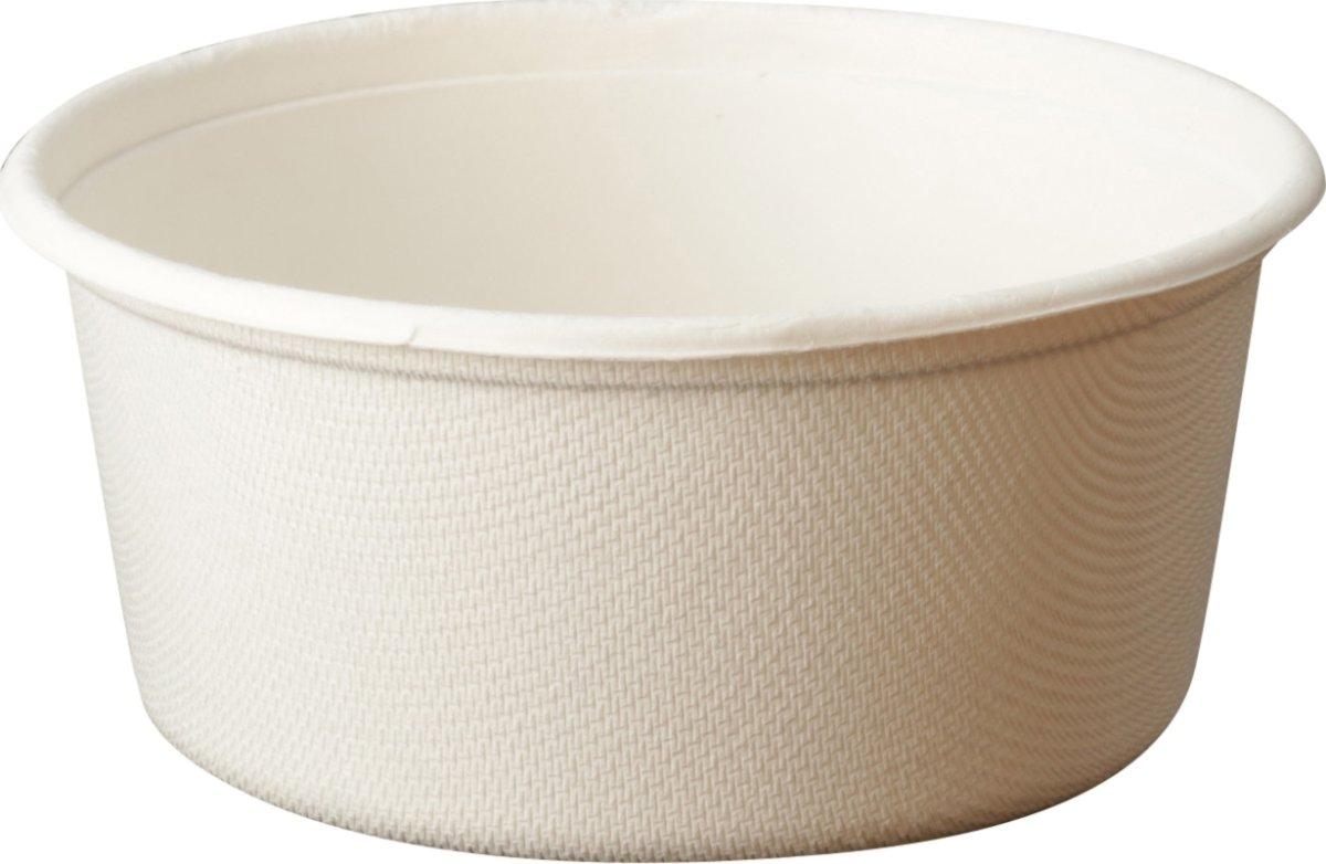 Komposterbar engangsskål, 11,4 x 5,2 cm, 350 ml