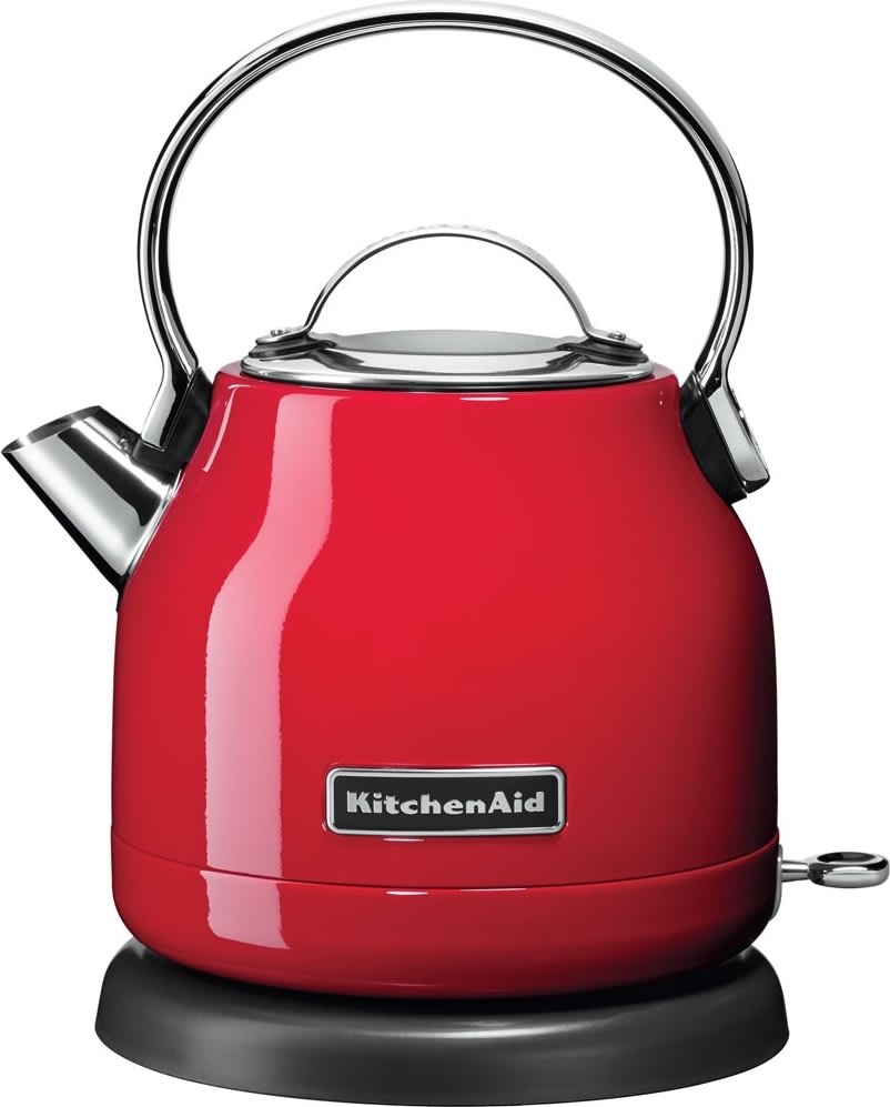 KitchenAid 1222EER kuppelformet elkedel, rød