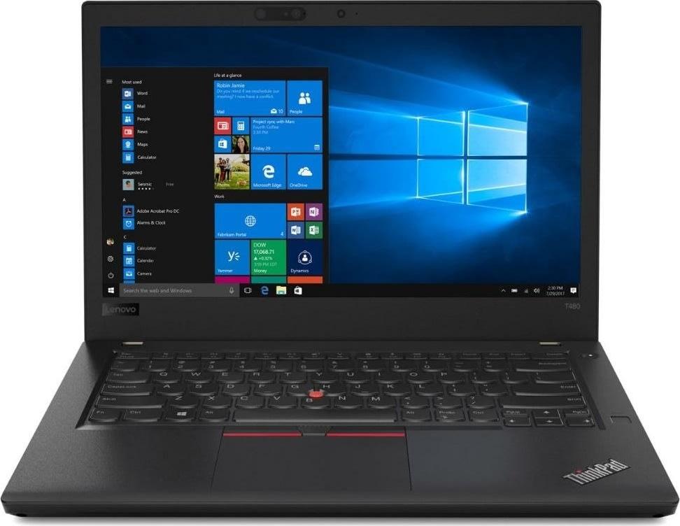 "Lenovo ThinkPad T480 i5-8250U 14"" bærbar computer"