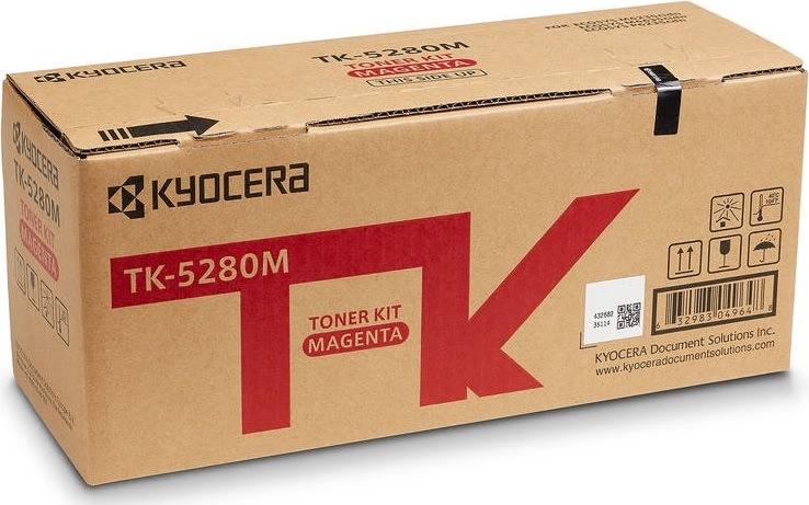 Kyocera TK-5280M Lasertoner, magenta, 11.000s