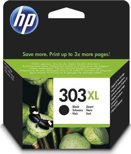 HP No303 XL blækpatron, sort