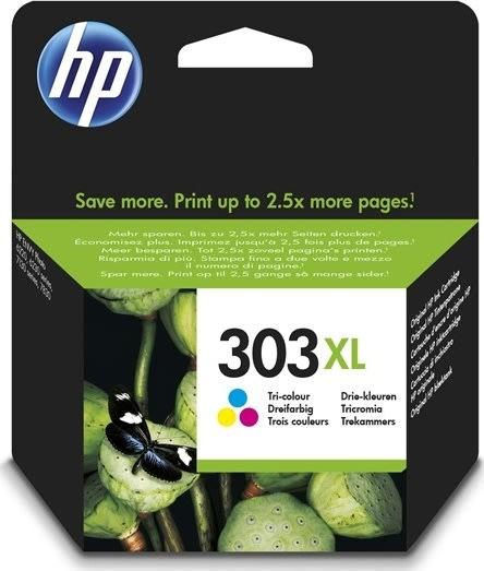 HP No303 XL tri-farve blækpatron, 415s