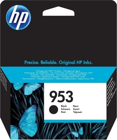 HP No953 blækpatron blister, sort, 1.000s