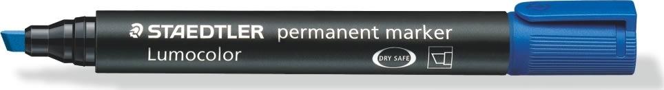 Staedtler Lumocolor marker skrå, 2-5 mm, blå