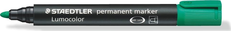 Staedtler Lumocolor marker rund, 2 mm, grøn