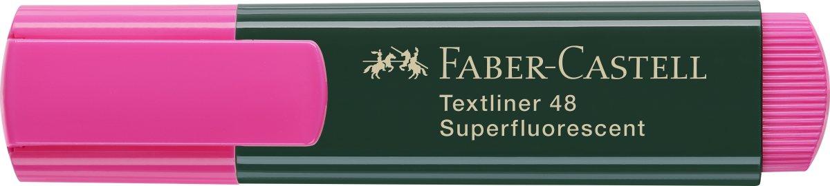 Faber-Castell overstregningspen, pink
