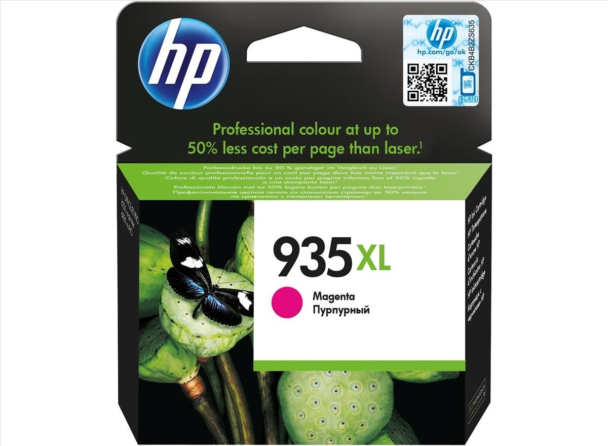 HP No935XL blækpatron, blister, magenta, 825s