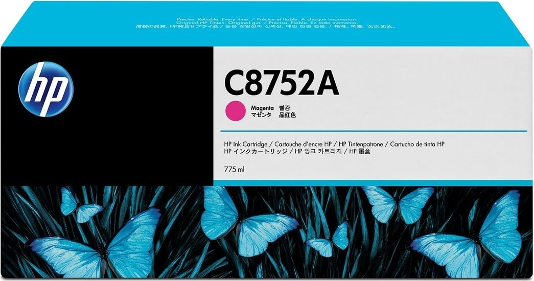 HP C8752A blækpatron, magenta, 775ml