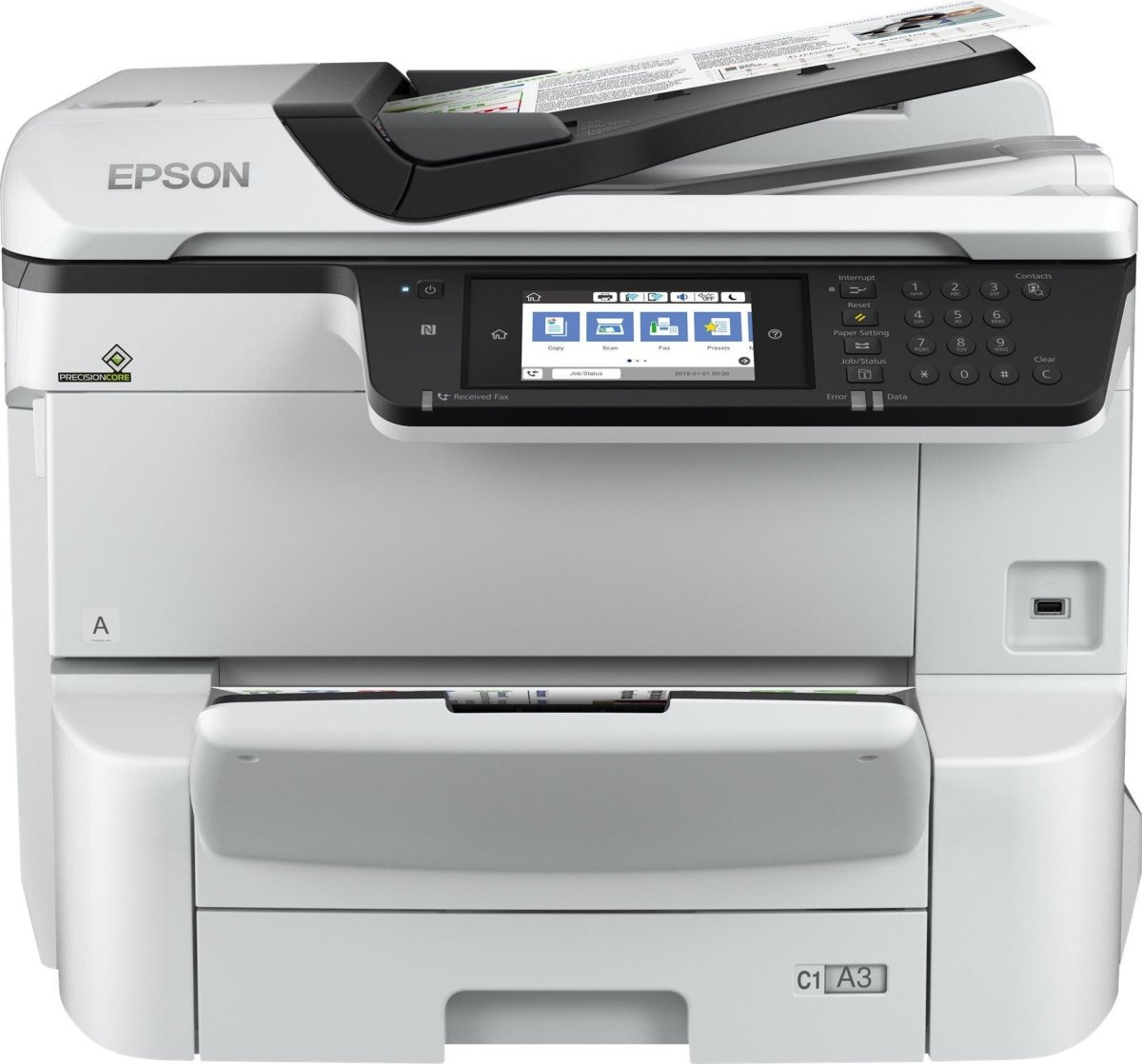 Epson WorkForce Pro WF-C8690DWF blæk MFP