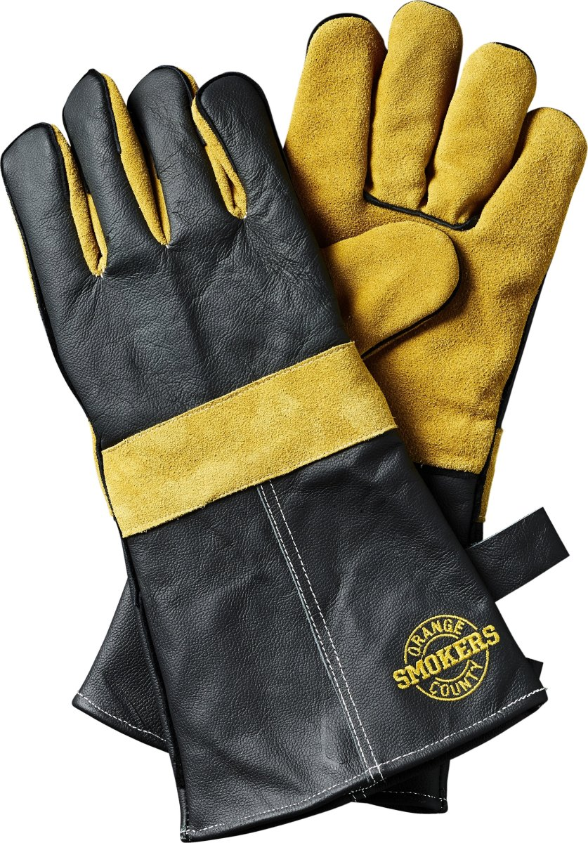 OCS beskyttelseshandsker, læder/ruskind