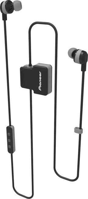 Pioneer SE-CL5BT in-ear høretelefoner, grå