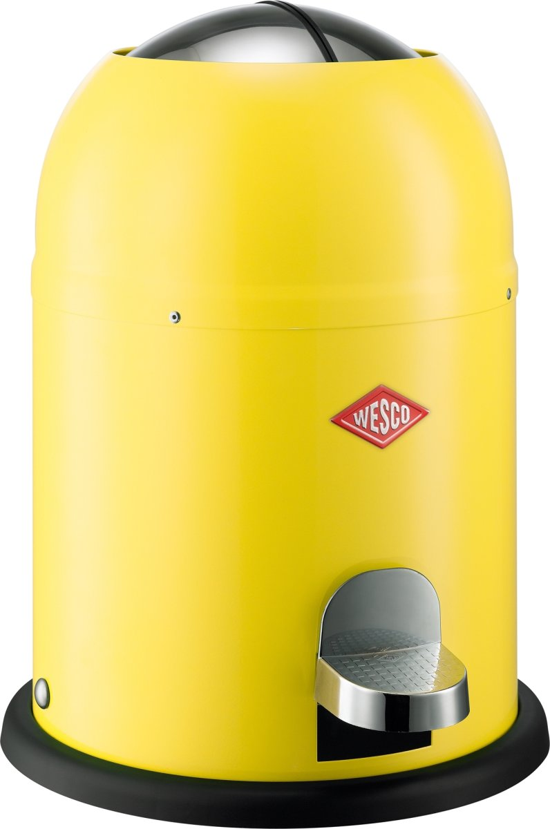 Wesco Single Master Pedalspand, 9 L, gul