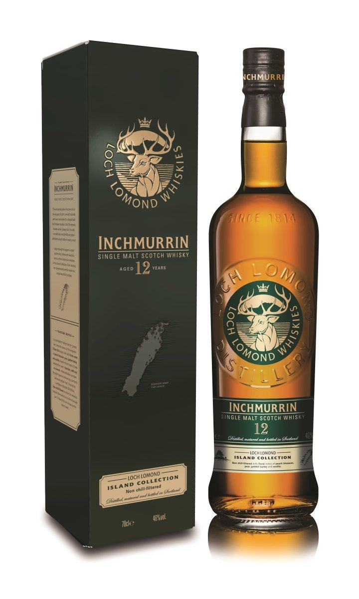 Loch Lomond Inchmurrin, lagret 12 år, whisky