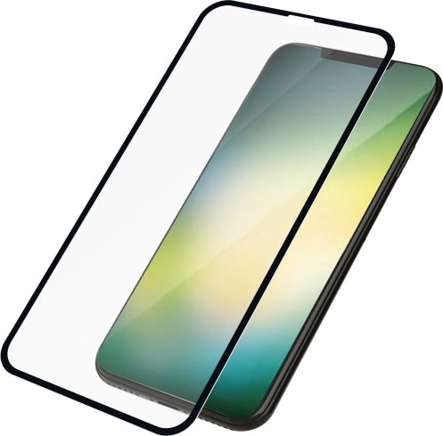 PanzerGlass til iPhone XR, Sort (CaseFriendly)