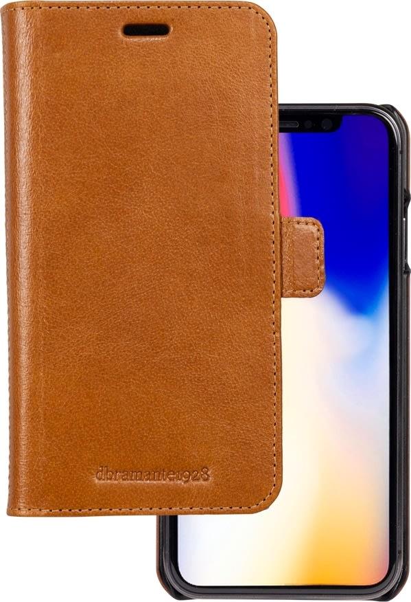 dbramante1928 lædercover iPhone Xs Max, Tan