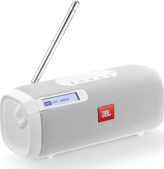 JBL TUNER - Hvid - DAB Radio med bluetooth