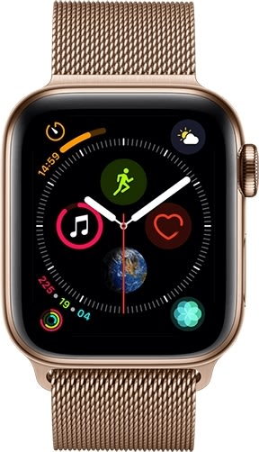 Apple Watch Series 4 Cellular, 44mm – Gold