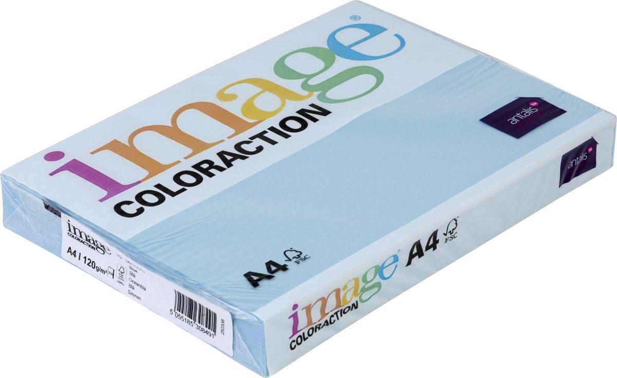 Image Coloraction A4, 120g, 250ark, oceanblå