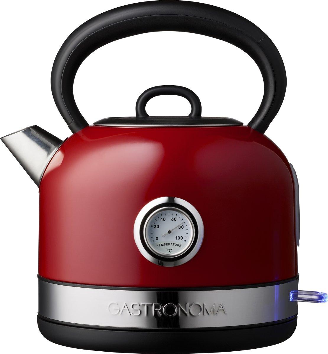 Gastronoma Dome elkedel 1,7 L, rød