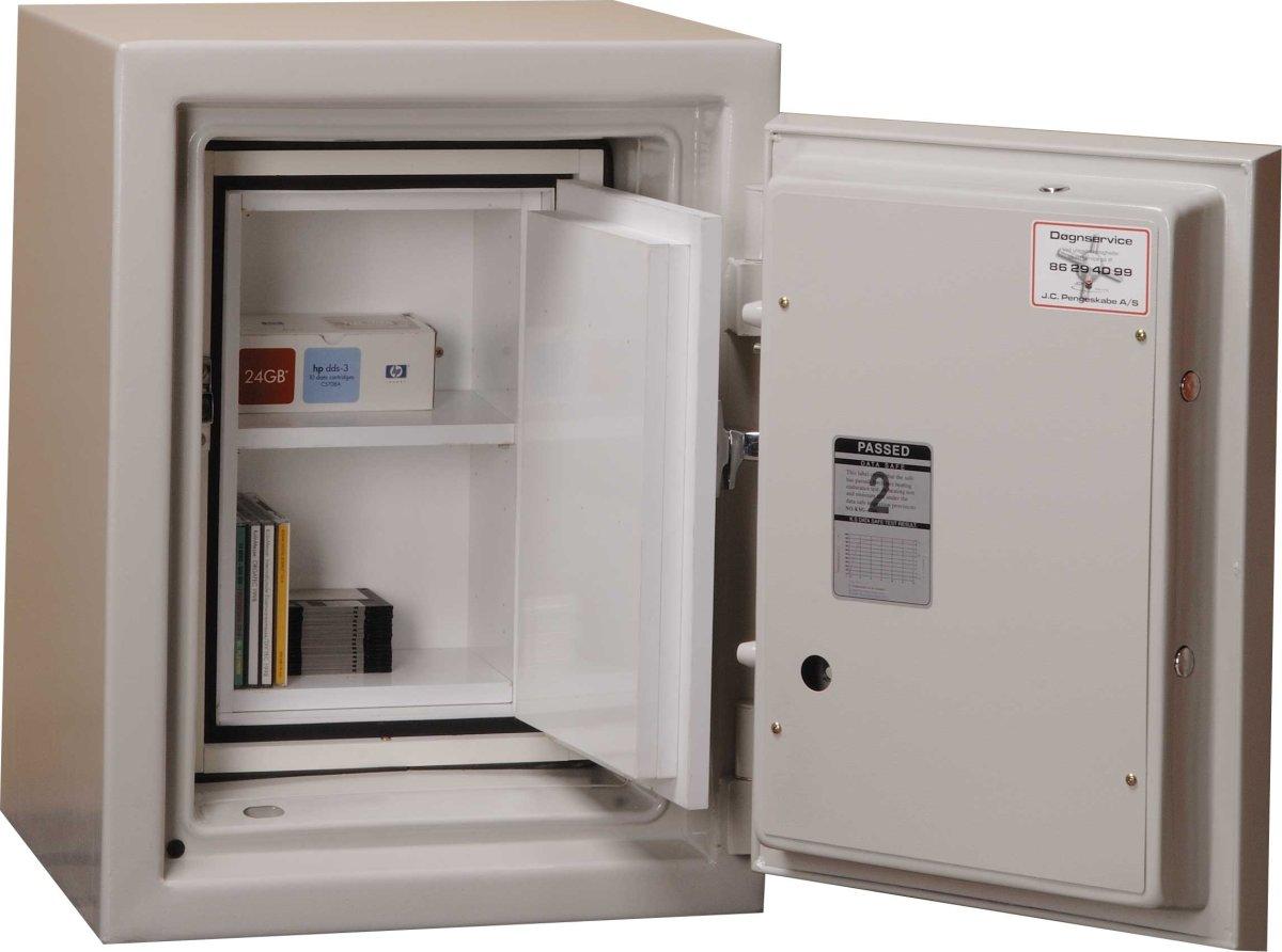 Brandsikkert dataskab EDS-045, 11 l, El-kodelås