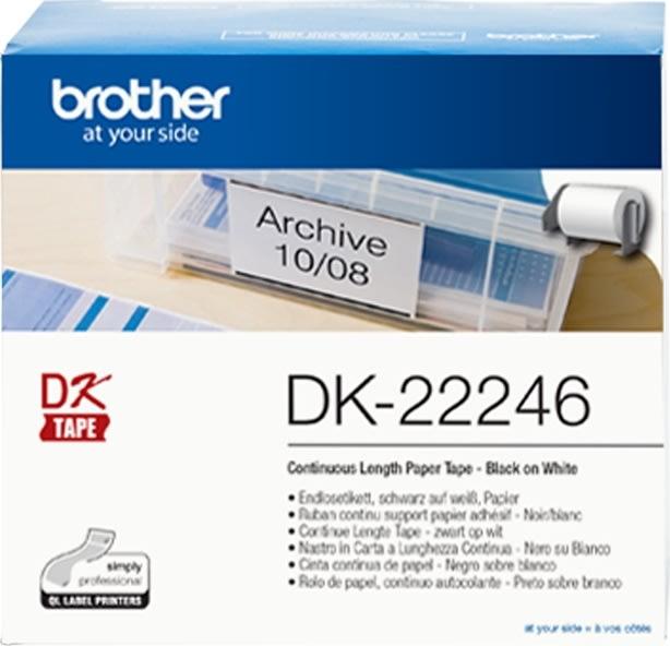 Brother endeløs tape i papir 103,6mm x 30,48 m