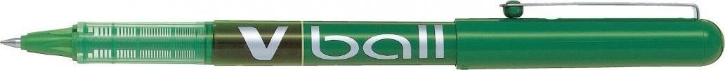 Pilot V-Ball 05 Rollerpen, grøn