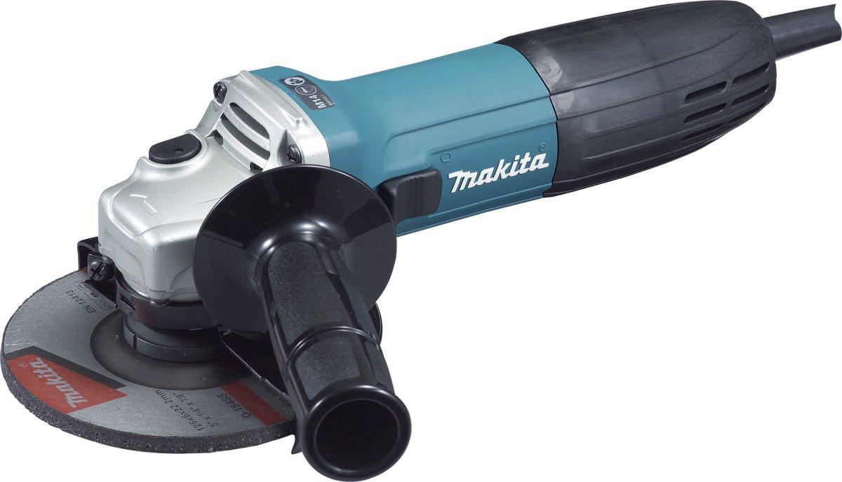 Makita vinkelsliber, 125mm, 720W